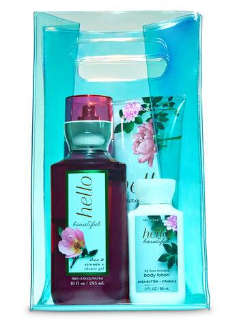 Hello Beautiful Iridescent Bag Gift Set