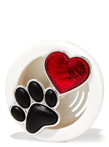 Paw & Heart Vent Clip Car Fragrance Holder