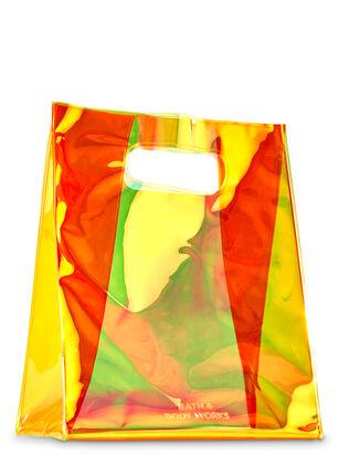 Orange Iridescent Gift Bag