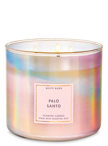 Palo Santo 3-Wick Candle - Bath And Body Works