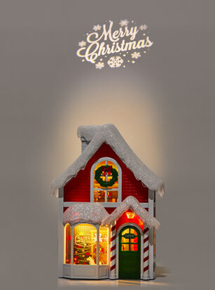 Santa's Workshop Projector Nightlight Wallflowers Fragrance Plug