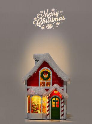 Santa's Workshop Projector Nightlight Wallflowers Fragrance Plug