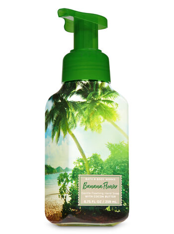 Banana Flower Gentle Foaming Hand Soap - Bath And Body Works