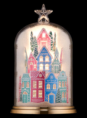 Holiday Village Cloche Nightlight Wallflowers Fragrance Plug