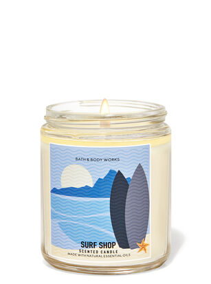 Surf Shop Single Wick Candle