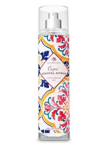 Signature Collection Capri Coastal Citrus Fine Fragrance Mist - Bath And Body Works