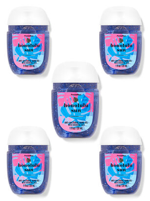 Honolulu Sun PocketBac Hand Sanitizers, 5-Pack