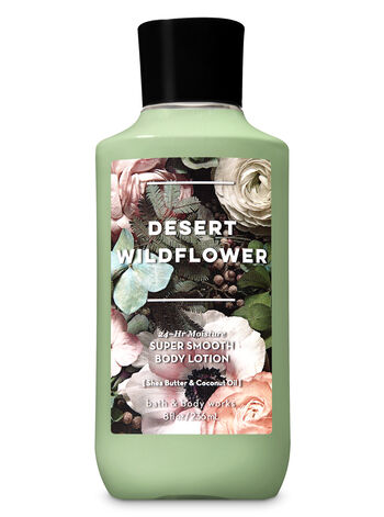 Signature Collection Desert Wildflower Super Smooth Body Lotion - Bath And Body Works