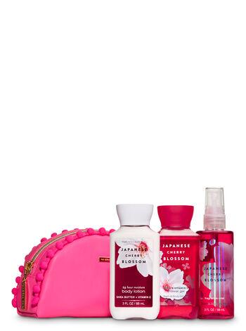 Japanese Cherry Blossom Cosmetic Bag Mini Gift Set