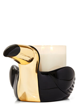 Modern Toucan 3-Wick Candle Holder