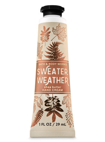 Sweater Weather Hand Cream - Bath And Body Works