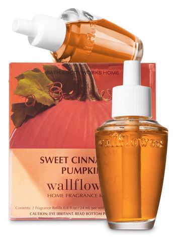 Sweet Cinnamon Pumpkin Wallflowers Refills, 2-Pack - Bath And Body Works