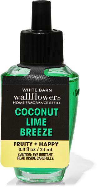Coconut Lime Breeze Wallflowers Fragrance Refill