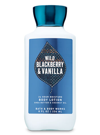 Wild Blackberry & Vanilla Super Smooth Body Lotion - Bath And Body Works