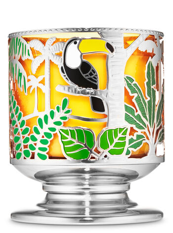 Jungle Critters 3-Wick Candle Holder