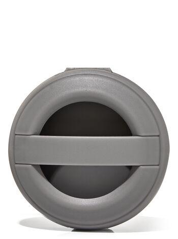 Gray Matte Visor Clip Car Fragrance Holder