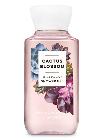 Signature Collection Cactus Blossom Travel Size Shower Gel - Bath And Body Works