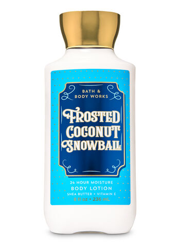 Frosted Coconut Snowball Super Smooth Body Lotion - Bath And Body Works