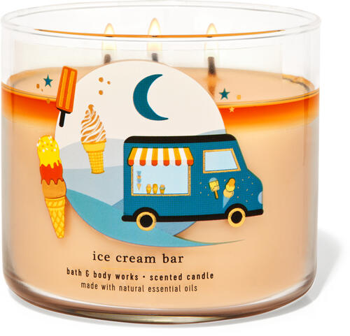 Ice Cream Bar 3-Wick Candle