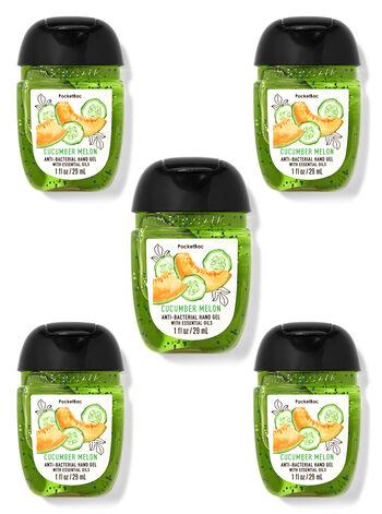 Cucumber Melon PocketBac Hand Sanitizers, 5-Pack