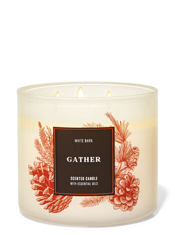 Gather 3-Wick Candle