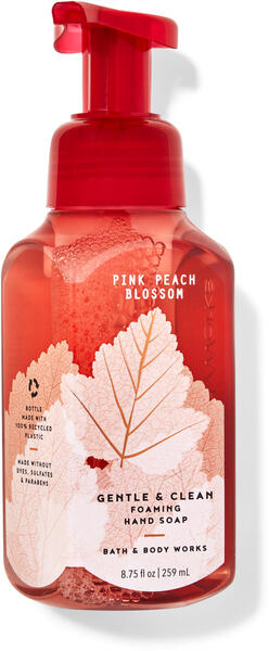 Pink Peach Blossom Gentle & Clean Foaming Hand Soap