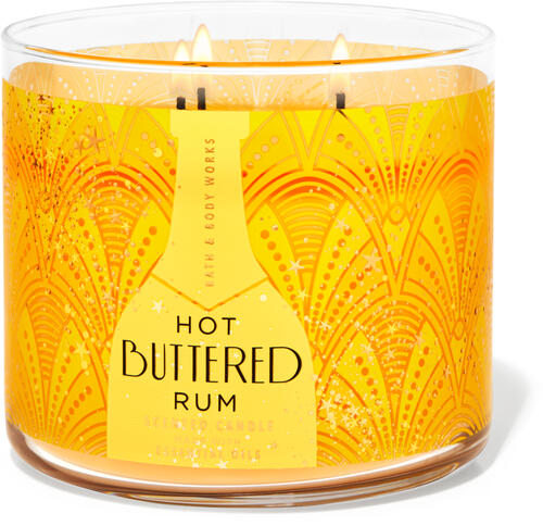 Hot Buttered Rum 3-Wick Candle