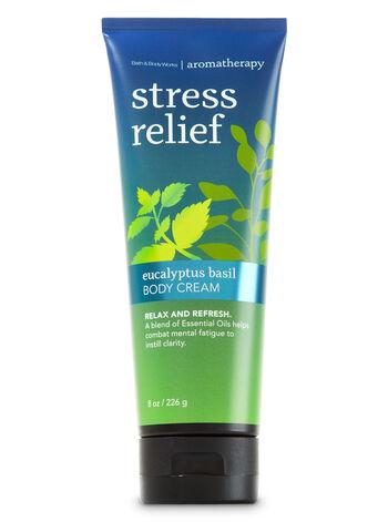 Aromatherapy Eucalyptus Basil Body Cream - Bath And Body Works