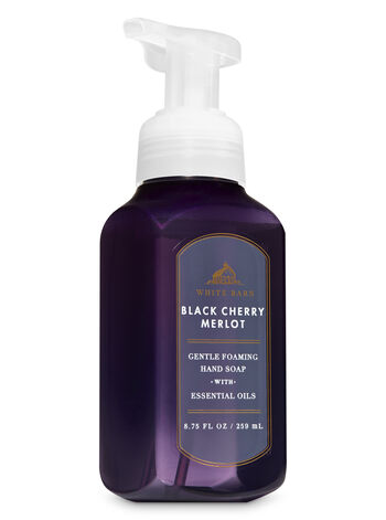 White Barn Black Cherry Merlot Gentle Foaming Hand Soap - Bath And Body Works