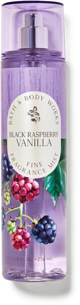 Black Raspberry Vanilla Fine Fragrance Mist