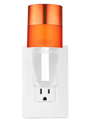 Two-Toned Orange Nightlight Wallflowers Fragrance Plug