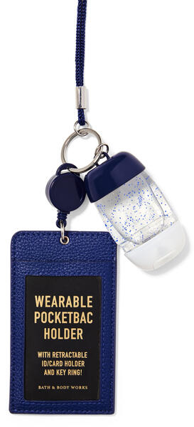 Wearable Navy ID Card PocketBac Holder
