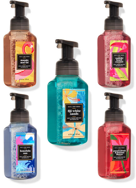 Tropical Oasis Gentle Foaming Hand Soap, 5-Pack