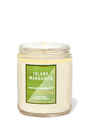 Island Margarita Single Wick Candle