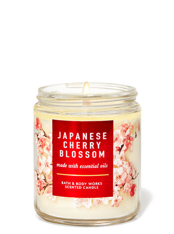 Japanese Cherry Blossom Single Wick Candle