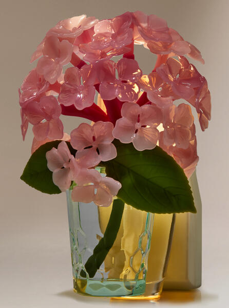 Pink Hydrangea Nightlight Wallflowers Fragrance Plug