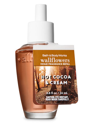 Hot Cocoa & Cream Wallflowers Fragrance Refill - Bath And Body Works