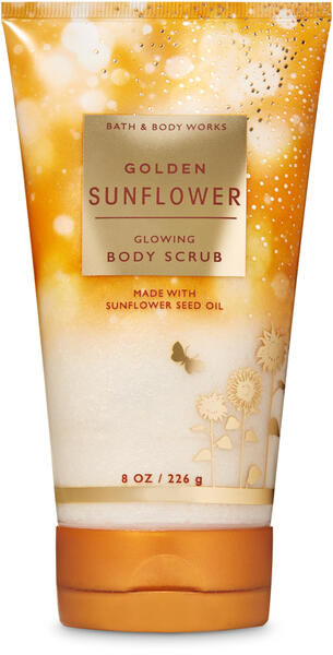 Golden Sunflower Glowing Body Scrub