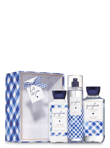 Gingham Gift Box Set - Bath And Body Works