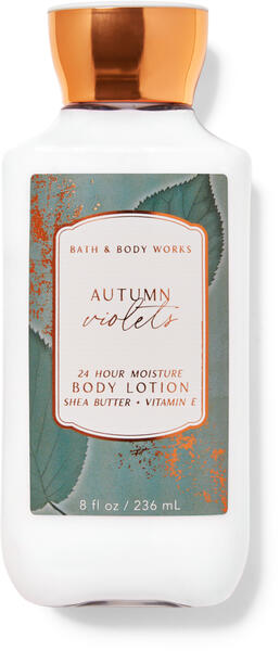 Autumn Violets Super Smooth Body Lotion