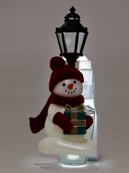Snowman Buddy Nightlight Wallflowers Fragrance Plug