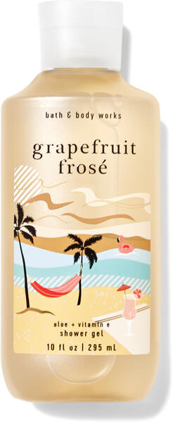 Grapefruit Frosé Shower Gel