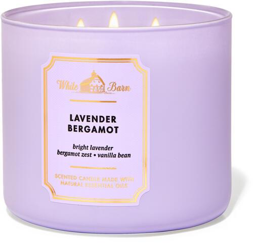 Lavender Bergamot 3-Wick Candle
