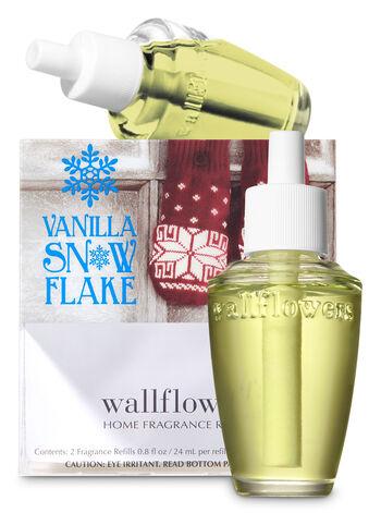 Vanilla Snowflake Wallflowers Refills, 2-Pack - Bath And Body Works