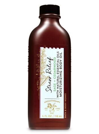 Aromatherapy Sage Cedarwood Moisturizing Body Oil - Bath And Body Works