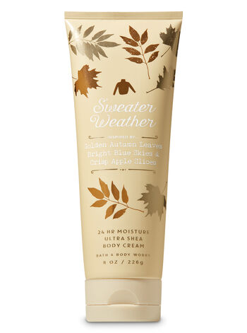 Signature Collection Sweater Weather Ultra Shea Body Cream - Bath And Body Works