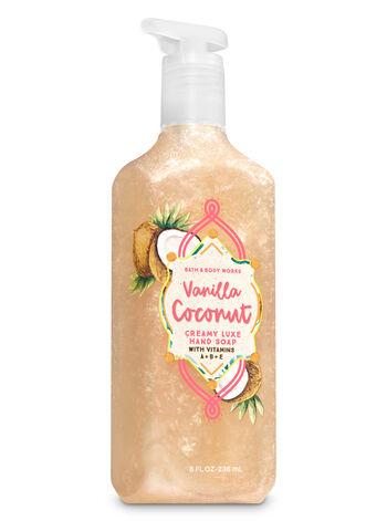 Vanilla Coconut Creamy Luxe Hand Soap - Bath And Body Works