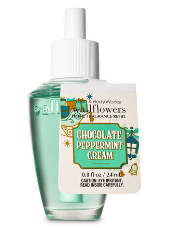 Chocolate Peppermint Cream Wallflowers Fragrance Refill - Bath And Body Works