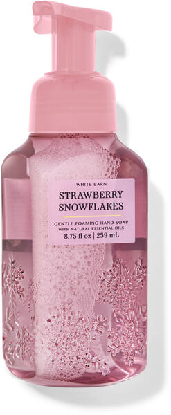 Strawberry Snowflakes Gentle Foaming Hand Soap