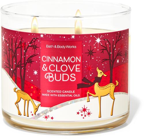 Cinnamon Clove Buds 3-Wick Candle